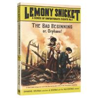 正版现货悲惨的开始 英文原版 The Bad Beginning 波特莱尔大冒险系列 电影雷蒙斯尼奇的不幸历险原著小说