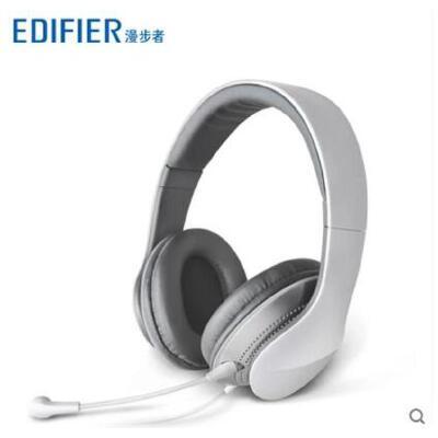 【支持礼品卡】Edifier/漫步者 K830 插拔电脑耳机麦克风游戏头戴立体声耳麦 造型时尚精致 高品质 音乐享受 佩戴舒适