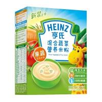 【当当自营】亨氏 Heinz混合蔬菜营养米粉1段(辅食添加初期-36个月)225g/盒 宝宝辅食(团购电话:010-57992568)