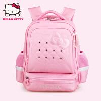 Hello Kitty凯蒂猫 KT1120粉红女小学生护脊减负书包彩盒装 当当自营