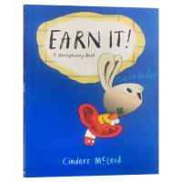 小兔子理财书1 小兔子学赚钱 A Moneybunny Book Earn It 英文原版 小兔子学花钱系列 亲子理财意