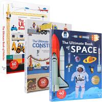 英文原版书 三册合售 Ultimate Book of Vehicles 建筑师 Ultimate construct