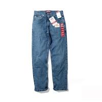 Lee/李 美国专柜男士休闲经典款蓝色直筒中腰牛仔裤