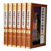 动植物知识大博览 全套6册精装 图文版动物知识百科全书植物知识百科全书 科普百科全书青少年读物