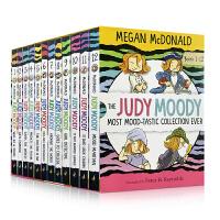 英文原版 稀奇古怪小朱迪12册套装 The Judy Moody Most Mood-tastic Collectio