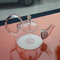 北斗正明耐热玻璃茶壶高把烧水壶明尚德花草茶壶电陶炉用600ML