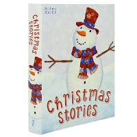 Christmas Stories 38个圣诞故事合集 全彩铜版纸 幼儿圣诞礼物 英文原版
