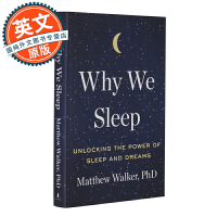 我们为什么要睡觉 英文原版 Why We Sleep: Unlocking the Power of Sleep an