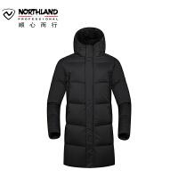【品牌特惠】NORTHLAND诺诗兰羽绒服男女中长款户外抗寒加厚保暖鸭绒GD080213