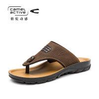 骆驼动感(camel active)日常休闲人字拖凉鞋男士沙滩鞋
