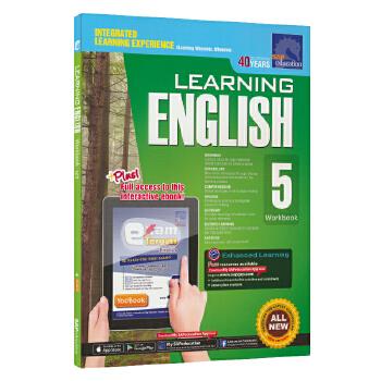 SAP Learning English Workbook 5 小学五年级英语练习册在线测试版 新加坡教辅 新亚出版社学习系列 11岁 儿童英文原版图书