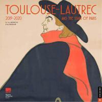 英文原版 波士顿美术馆 罗特列克2019.9-2020年挂历 博物馆周边艺术日历 Toulouse-Lautrec a