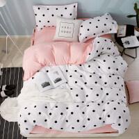 少女心床上四件套床品套件网红款大学被套学生宿舍床单人三件套4
