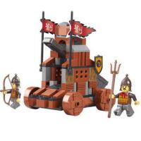 小鲁班益智拼装积木儿童智力拼插玩具雷石跑车模型男孩6岁以上