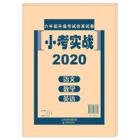现货2020天津市小考实战:语文+数学+英语 六年级升级考试仿真试卷 小考实战 小升初语文数学英语六年级升中考卷天津市