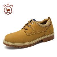 骆驼牌男鞋 秋季日常户外休闲大头工装鞋耐磨潮男鞋