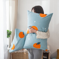 纯棉枕套一对装单人全棉加厚枕头套学生宿舍枕芯套48*74cm
