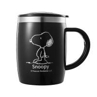 史努比 不锈钢水杯马克杯 便携杯子礼品保温水杯 420ml-可爱杯