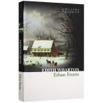 华研原版 伊坦弗洛美 英文原版小说 Ethan Frome 全英文版 正版进口英语书籍