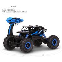 男孩电动儿童玩具车遥控车越野四驱车大脚攀爬车充电
