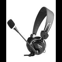 声籁 电音DT868头戴式有线话务耳机中考四六级金属对讲