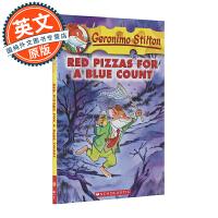 老鼠记者 英文原版 Red Pizzas for a Blue Count#07 蓝伯爵的红披萨 Geronimo S