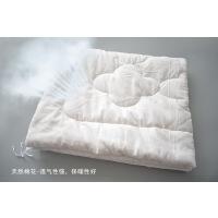 婴儿床上用品 儿童幼儿园被子全棉被套 被芯 白色被芯