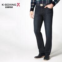 劲霸牛仔裤 2016秋季男裤直筒时尚商务休闲牛仔长裤男装正品裤子