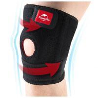 透气舒适持久耐用透气双弹簧加强护具运动健身护膝跑步登山骑行保护膝