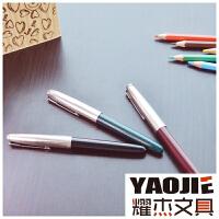 英雄616 钢套特细 钢笔 自来水笔 学生练字专用 铱金笔永恒的经典
