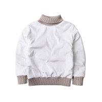 童装秋冬装男童双层高领毛衣儿童宝宝保暖套头线衫