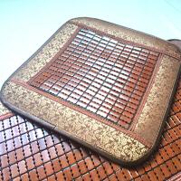 汽车竹坐垫竹片单片竹垫竹子夏天凉垫夏季凉坐垫汽车凉席座垫