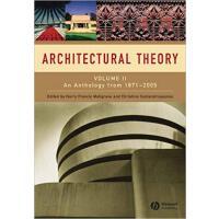 【预订】Architectural Theory - An Anthology From 1871 To 2005 V