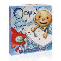 英文原版绘本 Oops! 纸板书 大卫宝宝的故事 大卫不可以系列 吴敏兰书单 大卫香农 香侬 David Shanno