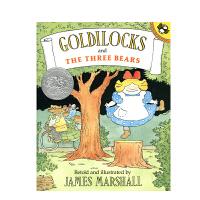 英文原版 Goldilocks and the Three Bears 金凤花和三只熊 平装