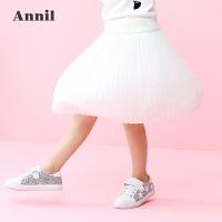 【秒杀:68.7】安奈儿童装女大童秋冬新款梭织半裙EG733369