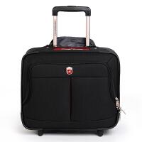 SWISSGEAR瑞士军刀拉杆箱16英寸商务休闲旅行箱包 托运箱行李箱 男女拉杆箱包