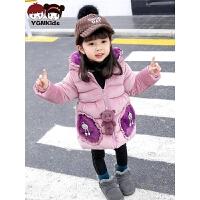 女童冬装棉衣外套儿童宝宝棉袄3-6岁