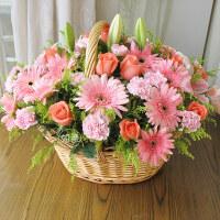 长沙鲜花手提花篮杭州同城速递南宁昆明上海苏州无锡株洲花店送花