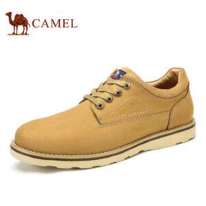 camel 骆驼男鞋 秋季新品日常时尚休闲舒适工装鞋休闲男鞋
