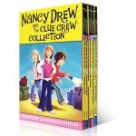 英文原版The Nancy Drew and the Clue Crew Collection1-5本侦探故事初级桥梁