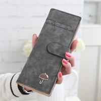 20180828072749508卡包零钱包一体女式多卡位韩国可爱个性简约大容量长款多功能复古