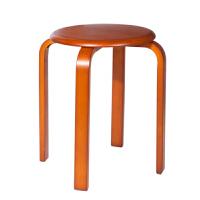 御目 凳子 实木凳圆凳时尚板凳餐桌凳创意餐凳家用凳木凳子实木矮凳 创意家具