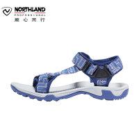 【顺心而行】诺诗兰19新款男士户外轻量防滑凉鞋耐磨透气沙滩鞋FS085005