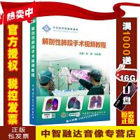 正版包票 解剖性肺段手术视频教程(U盘版)(无DVD光盘)讲座