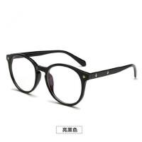 眼镜女款平光镜 防蓝光眼镜男复古电脑护目镜潮无度数