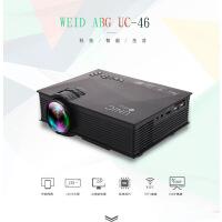 投影仪手机无线WIFI迷你微型投影机家用LED高清1080P 内置同频器 支持手机同步播放