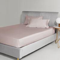 60支床笠单件床垫套床罩纯棉全棉床单席梦思保护套1.5米床套防滑 180x200cm 35cm