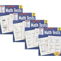 Scholastic Success with Math Tests 学乐成功系列 3-6年级 数学测试题 考试练习册