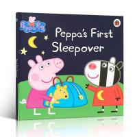 【全店300减100】英文原版书 粉红猪小妹佩奇 Peppa Pig Peppafirst sleepove